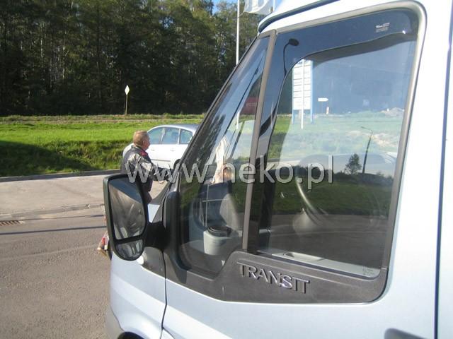 Ofuky oken Ford Focus S MAX 5dveř přední 06- Heko
