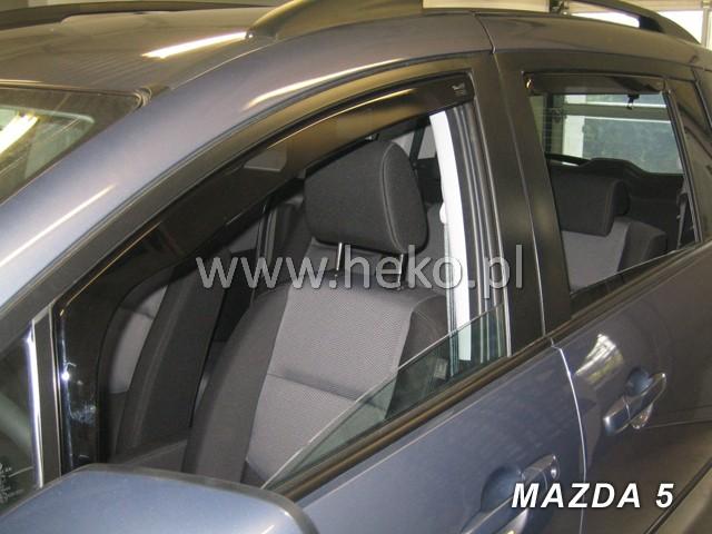 Ofuky oken BMW X5 5dveř přední 01-06 Heko