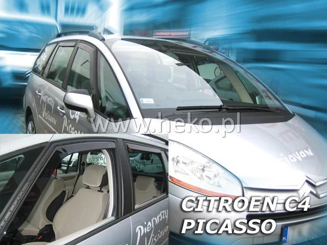 Ofuky oken Citroen C4 Picasso 5dveř přední 06- Heko