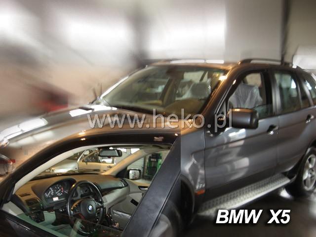Ofuky oken VW Crafter 2dveř přední 06- Heko