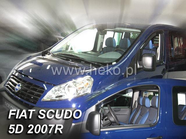 Ofuky oken Fiat Scudo 2dveř přední 07- Heko