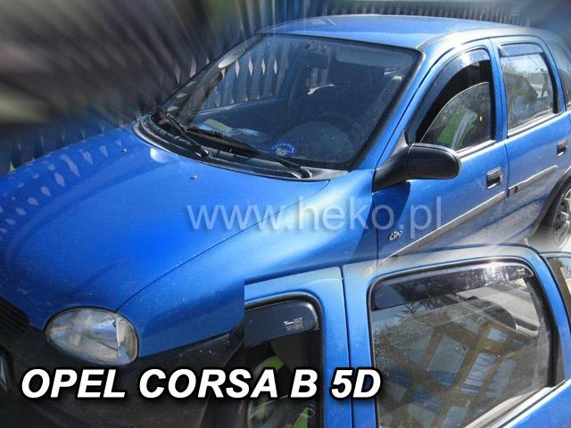 Ofuky Dodge Nitro 5D 07R (+zadní)