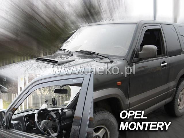 Ofuky oken Opel Corsa B 5dveř 93-01 před.+zadní Heko