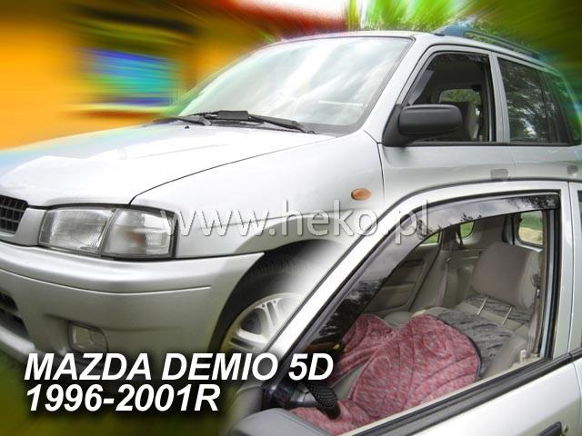 Ofuky oken Ford Ranger 4dveř 07- Heko