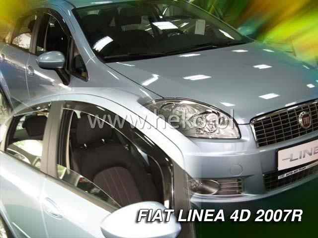 Ofuky oken Fiat 500 3dveř přední 07- Heko