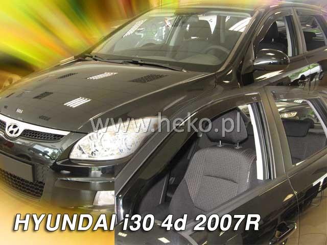 Ofuky oken Hyundai i30 5dveř přední 07- Heko