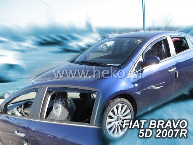 Ofuky oken Fiat Bravo 5dveř přední 07- Heko