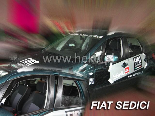 Ofuky oken Fiat Bravo 5dveř 07- před.+zadní Heko