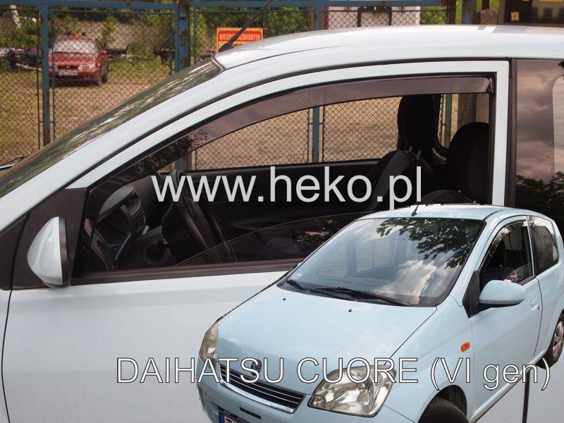 Ofuky oken Fiat Brava 5dveř 95- před.+zadní Heko