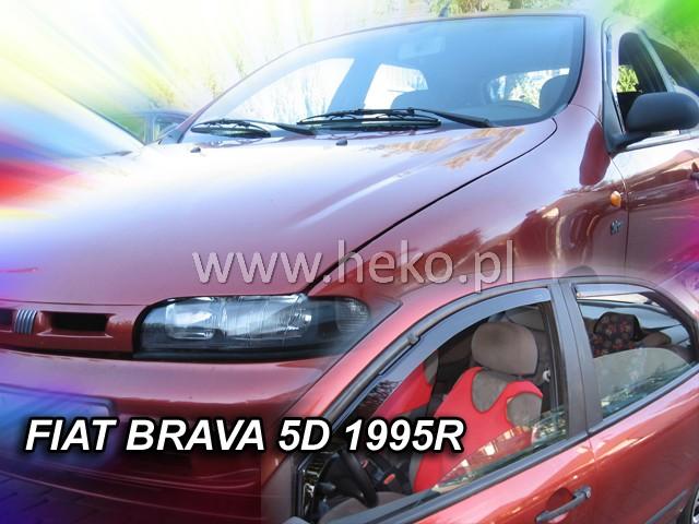 Ofuky oken Škoda Fabia II 2007 hatchback přední+zadní Heko