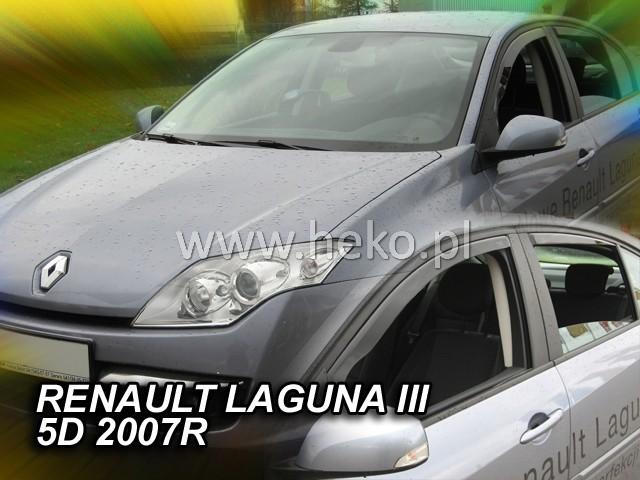 Ofuky oken Renault Laguna III 5dveř přední 07- Heko
