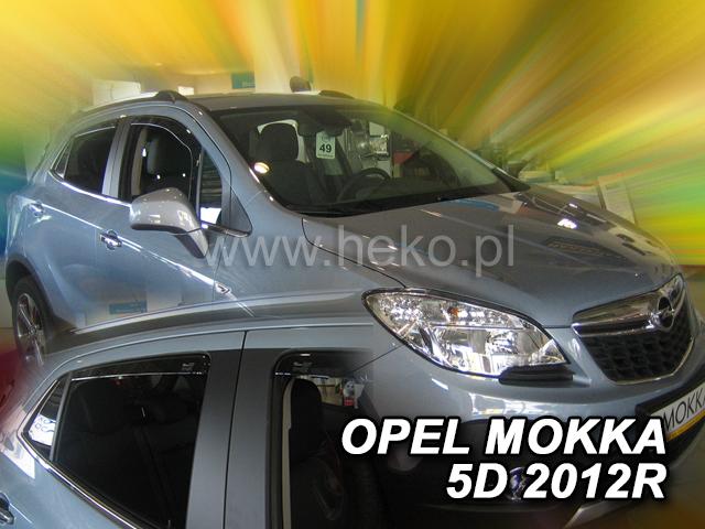 Ofuky oken Škoda Octavia III 2013- combi přední+zadní Heko