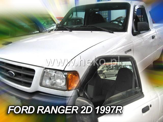 Ofuky oken Ford Puma 3dveř přední 97-02 Heko