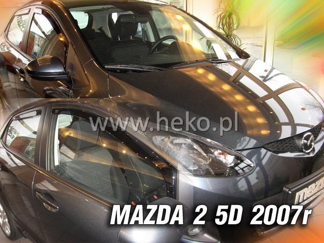 Ofuky Škoda Fabie II 4D 07R (+zadní) combi