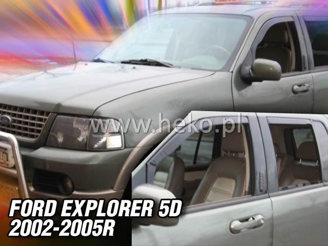 Ofuky oken Ford Explorer 5dveř 96-01 před.+zadní Heko