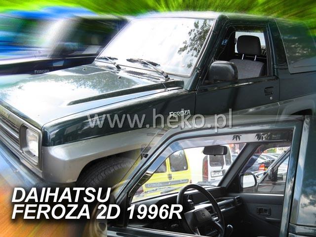 Ofuky oken Peugeot Bipper 4/5dveř přední 08- Heko