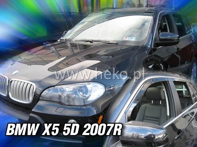 Ofuky oken BMW X5 5dveř přední 07- Heko