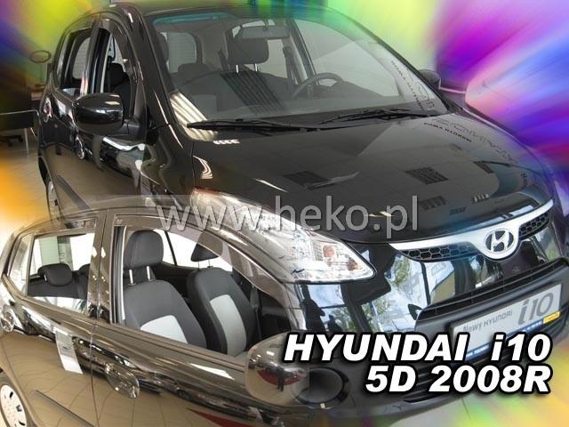Ofuky oken Hyundai i10 5dveř přední 08- Heko