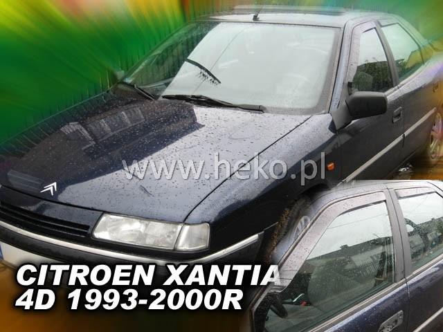 Ofuky oken Peugeot Partner 2dveř přední 08- Heko