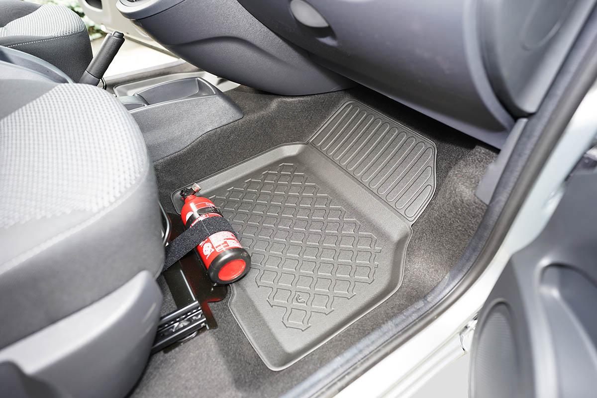 Ofuky oken Audi  Q7 06 přední+zadní Heko