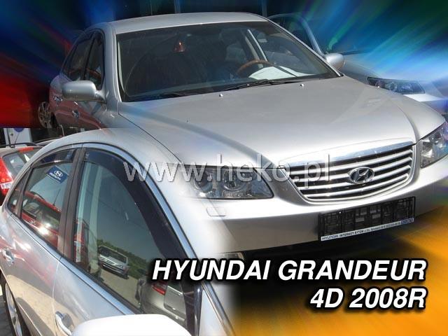 Ofuky oken Hyundai Grandeur 4dveř TG 05-11 před.+zadní Heko