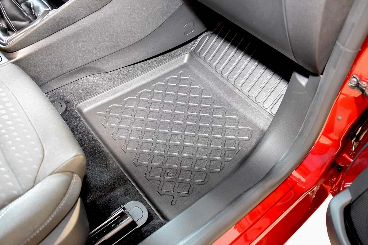 Ofuky oken Citroen C5 sedan 00- před+zadní  Heko