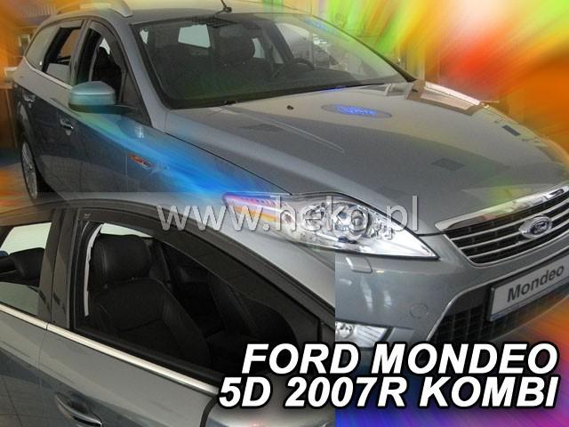 Ofuky oken Ford Mondeo 4/5dveř 07- před.+ zadní sed/htb Heko