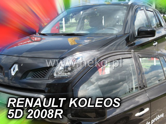 Ofuky oken Renault Koleos 4dveř přední 08- Heko