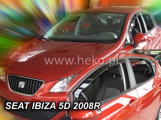 Ofuky oken Renault Koleos 4dveř 08- před.+zadní Heko