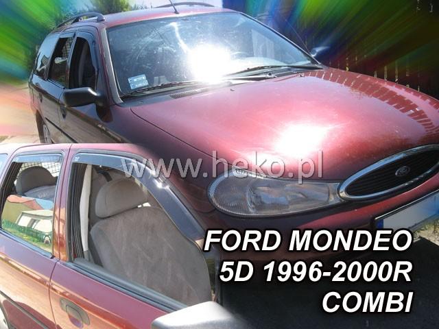 Ofuky oken Ford Mondeo 4dveř 93-96 před.+zadní combi Heko