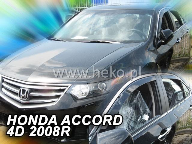 Ofuky oken Peugeot 308 5dveř 07- před.+zadní Heko