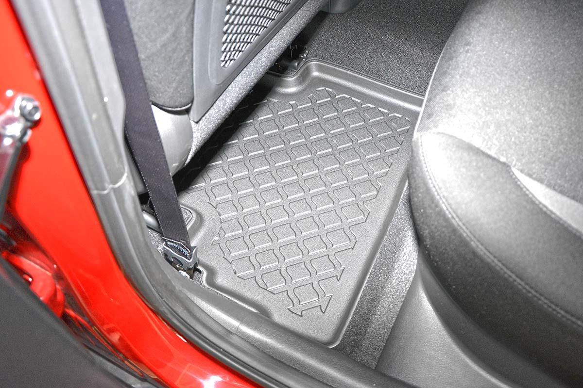 Ofuky oken Fiat Uno 3dveř přední 91- Heko