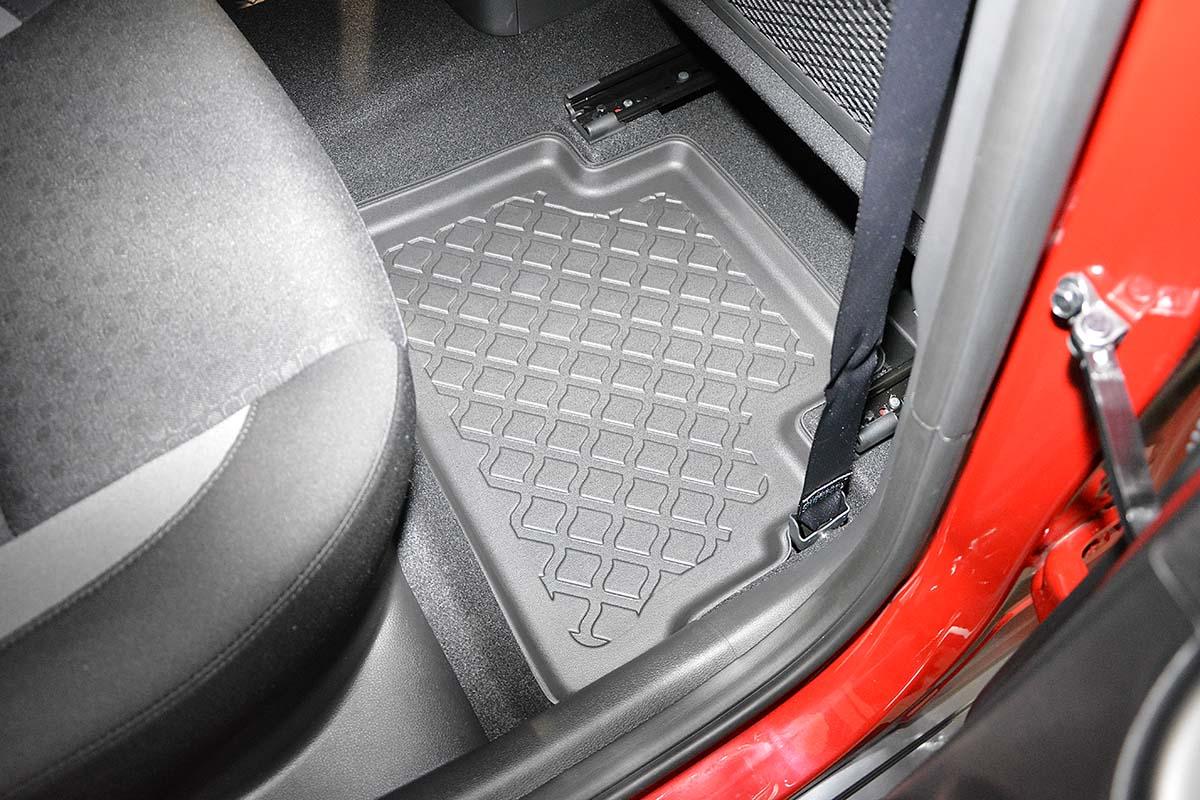 Ofuky oken Fiat Uno 5dveř přední 91- Heko