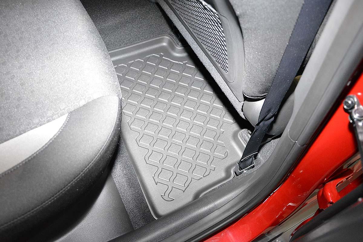 Ofuky oken Fiat Uno 5dveř -02 před.+zadní Heko