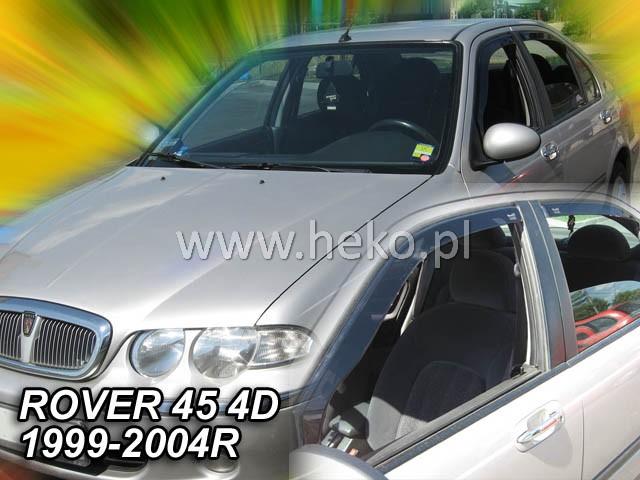 Ofuky Škoda Superb 4D 08R (+zadní) sed