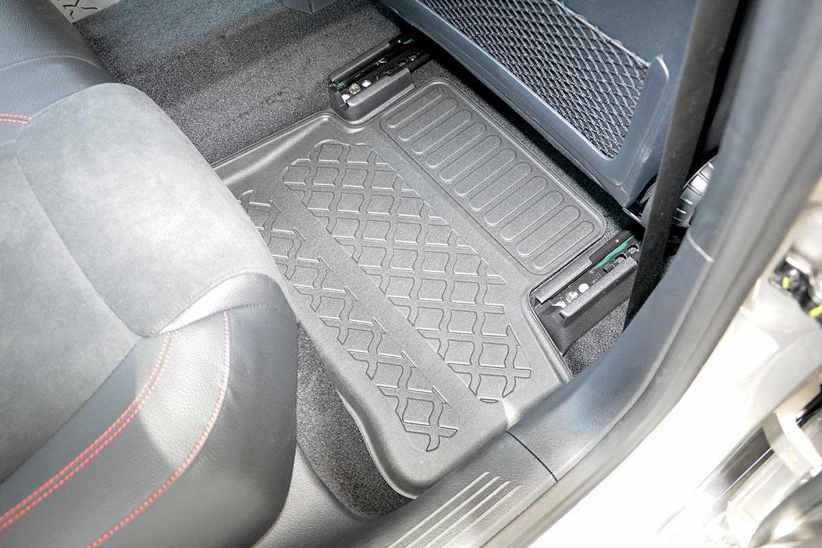 Ofuky oken Ford Focus 3dveř přední 05- Heko