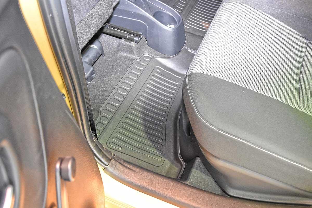 Ofuky oken Ford F-150 přední 05- Heko
