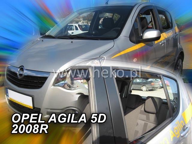Ofuky oken Opel Agila 5dveř přední 08- Heko