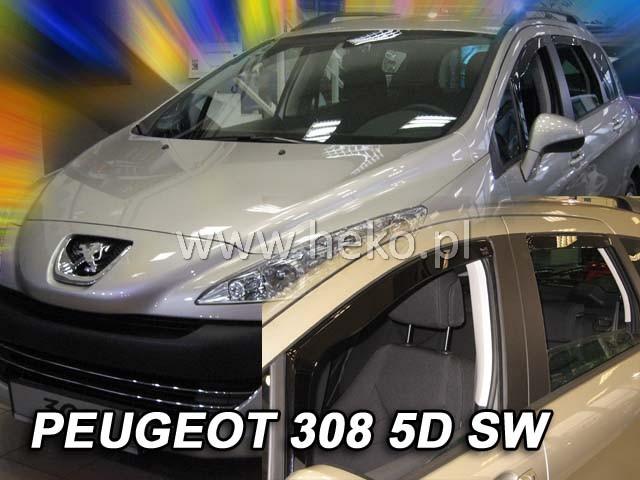 Ofuky oken Peugeot 406 4dveř 96- před.+zadní combi Heko