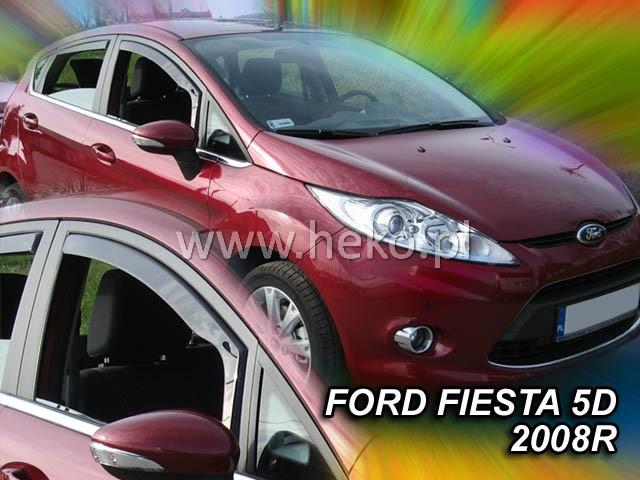 Ofuky oken Škoda Superb II 2008-2015 sedan přední+zadní Heko