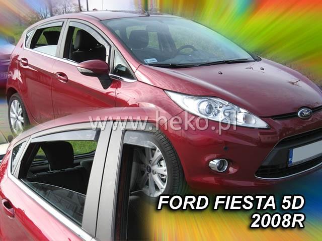 Ofuky oken Ford Fiesta 5dveř přední 08- Heko