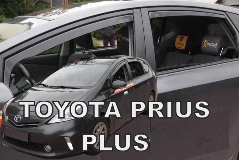 Ofuky oken Ford Fiesta 5dveř 08- před.+zadní Heko