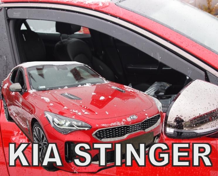 Ofuky oken Kia Stinger 4dveř 16- před.+zadní Heko