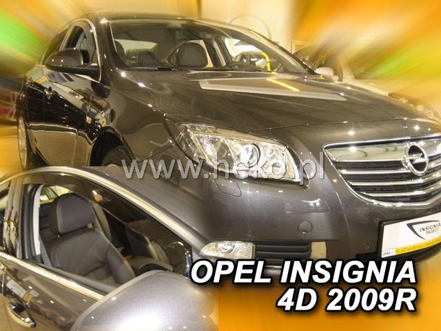 Ofuky oken Opel Insignia 4dveř 09- před.+zadní Heko