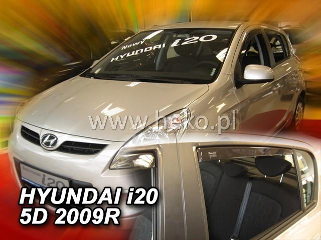 Ofuky oken Hyundai i20 5dveř přední 09- Heko
