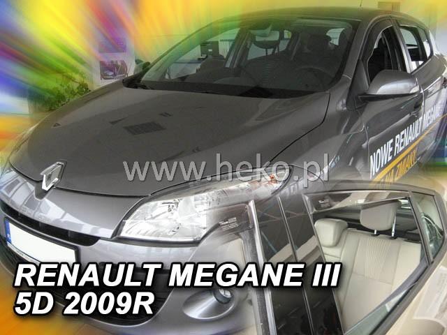 Ofuky oken Renault Megane III 5dveř přední 08- Heko