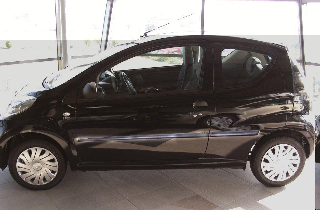 Ofuky oken Peugeot 207 5dveř 06- před.+zadní htb Heko