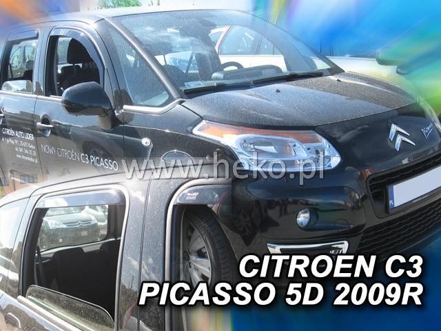 Ofuky oken Citroen C3 Picaso 5dveř přední 09- Heko