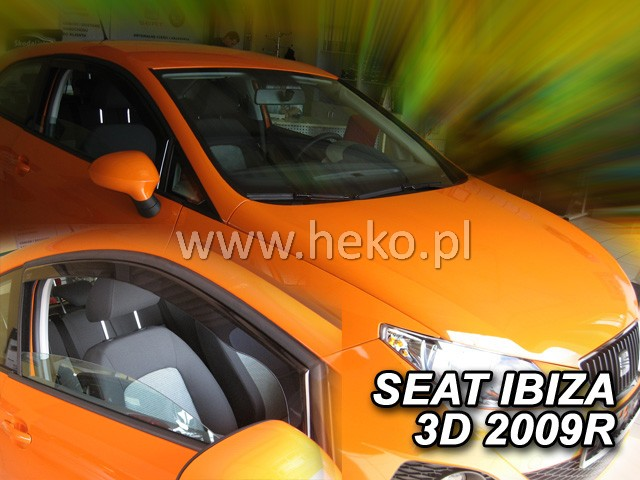 Ofuky oken Renault Megane III 5dveř 09- před.+zadní Grandtour Heko