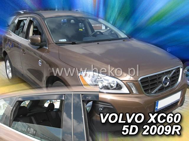 Ofuky oken VW Polo 5dveř 09- před.+zadní Heko